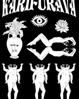 """Karifurava """"Classic B&W"""" Print"""