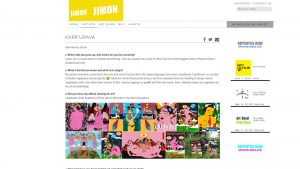 Interview for JIMON-magazine